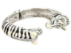 In love with this bracelet...Juicy Couture Sloane Rangers - Zebra Bangle Bracelet
