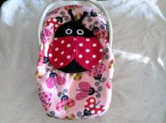 Infant Seat Cover for summer with mesh opening Great For Summer Out