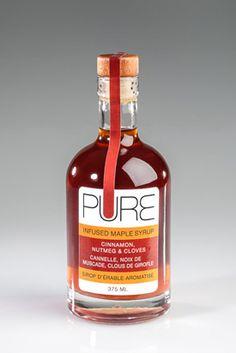PURE Cinnamon, Nutmeg & Cloves Infused Maple Syrup-275