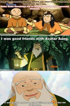 The Legend of Korra/ Avatar the Last Airbender: friendships that go beyond lifetimes