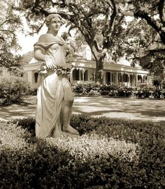 Real-Life Haunted Houses:   These creaky homes and hotels have a hair-raising history they just can't escape – and visitors that just won't leave BY AMY SCHELLENBAUM. The Myrtles Plantation: Visitors of the St. Francisville, Louisiana plantation tell stories of a young woman wandering its halls wearing a distinctive green bonnet. It's rumored to be the ghost of a young slave Chloe, who wore her bonnet to conceal a missing ear.