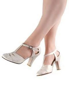 Aris Allen satin t-strap. These would be great for ballroom/swing dance outings! Swing Dance Shoes, Ballroom Dance Shoes, Dancing Shoes, Swing Dancing, Flapper Style, Dance Outfits, T Strap, Cute Shoes, Wedding Shoes