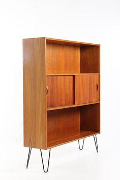 details zu 60er jahre string nisse standregal strinning regal ... - Danish Design Wohnzimmer