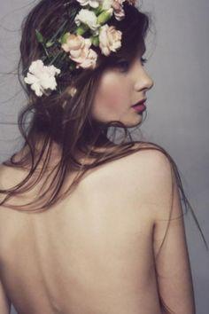 Oversized Flower Crowns / Wedding Style Inspiration / LANE
