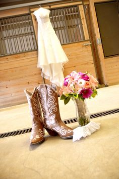 Bride before wedding pictures. look those are my boots! Wedding Bells, Wedding Events, Our Wedding, Dream Wedding, Wedding Flowers, Lace Wedding, Wedding Dresses, Chic Wedding, Wedding Stuff