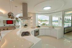 Inside the 5 Luxury Kitchens Luxury Kitchen Design, Dream Home Design, Luxury Kitchens, Modern House Design, Home Decor Kitchen, Kitchen Interior, Home Interior Design, Plafond Design, Mansion Interior