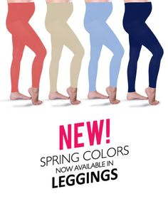 Preggers Maternity Compression Leggings in Spring Colors.... Because I never wear real pants