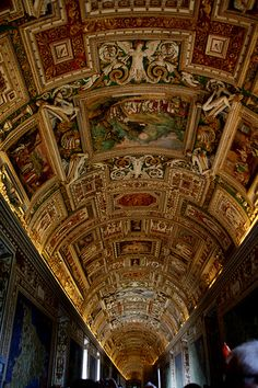 Vatican. I've walked that very hall!