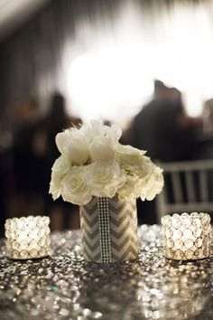 A Sparkling Napa Valley California Wedding from Andrew Weeks Photography - wedding centerpiece idea
