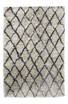I am seeing this rug all over Houzz and Pinterest these days. Villa Home Collection 'Diamond Ritz' Shag Rug available at #Nordstrom