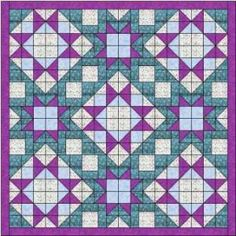 Morning Star Quilt Pattern - Ludlow Quilt and Sew
