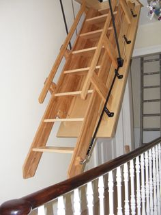 Best Foldable Stairs Amazing Folding Attic Stairs Cool Stuff Pinterest Decks Design And 400 x 300