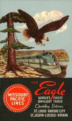 Missouri Pacific St, Louis to Kansas City
