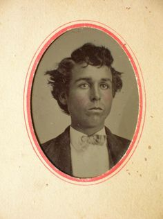 Possible tintype of Billy the Kid