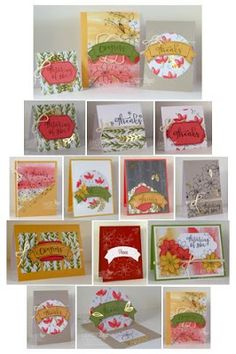 Stampin' Up! Paper Pumpkin October  Kit with my Alternative Projects. Debbie Henderson, Debbie's Designs.