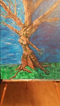 """Acrylic on canvas. """"Dream"""""""