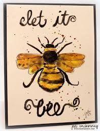 Картинки по запросу bee watercolor