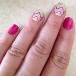 A great design on trend this season and year is Chevron. This design is available in several Jamberry color combinations. Don't forget you can shop at ekutchey.jamberrynails.net anytime!
