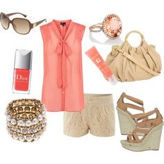 summer, created by breemendoza on Polyvore