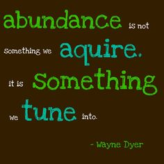 What does abundance mean to you? | Embrace Your Destiny