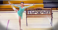 Ballet was her world, but she was left without a leg as a result of an accident. Watch how she shines on the stage!