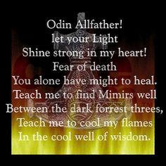 Odin's Prayer