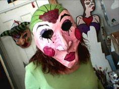 Wearable Papier-Mache Masks - on HGTV