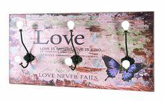 Nástenný vešiak BUTTERFLY MINI - SCONTO NÁBYTOK Gadget, Kartell, Love Never Fails, Love Is Patient, Provence, Clock, Butterfly, Mini, Wall