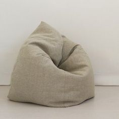 bean bag chair. nice shape. has instructions, but NOT for this shape.