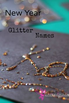 new year glitter names
