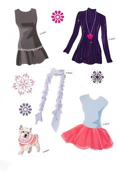 18 - Romashka Life - Picasa Webalbum * Free paper dolls at Arielle Gabriel's The International Papef Doll Society and The China Adventures of Arielle Gabriel *
