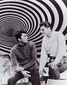 """James Darren and Robert Colbert in, """"The Time Tunnel"""" (1966-67, ABC)."""