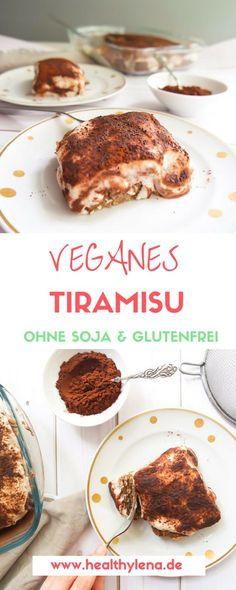 Veganes Tiramisu – Ich kann gar nicht genau sagen, wie lange dieses Rezept schon auf meiner 'To Do'-Liste stand. Gefühlt eine Ewigkeit! Jetzt habe ich es endlich geschafft ;) Herausgekommen ist ein veganes Tiramisu, das optional glutenfrei und ohne Soja ist sowie komplett ohne raffinierten Haushaltszucker auskommt.