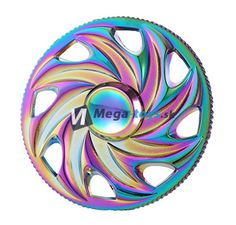 Fidget Spinner - Hand Finger Spin RAINBOW WHEEL duhový