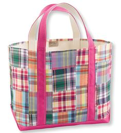 Sparkle & Hay Wedding Blog: Inspirations for a Rustic Chic Wedding: Thursday Purseday: LL Bean Pink Madras Plaid