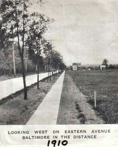 Eastern Ave in the new town of Essex.