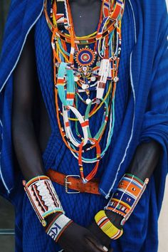 Kenyan beaded adornment