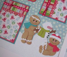 gigerbread scrapbooking  layouts | BLJ Graves Studio: Holiday Gingerbread Scrapbook Page