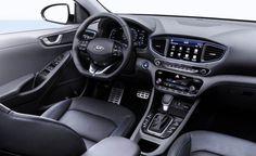 2017 Hyundai Ioniq dashboard interior