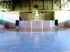 Tabela de Basquete do Ginásio Municipal de Esportes. Arquivo: Portal da Prefeitura de Mallet.