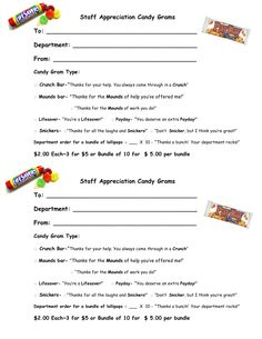1000 Images About Candy Grams On Pinterest Teaching
