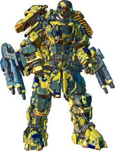 PlanetSide2 MAX Exoskeleton