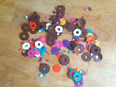 Donut Frosting & Sprinkles Confetti by ChaoticCollected on Etsy