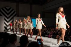 Grid Girl Austin #fashion week introduction for the #Austin #F1 Grand Prix