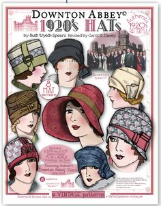 Downton Abbey 1920s Hats - eVintage