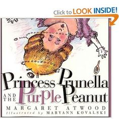 Princess Prunella and the Purple Peanut Example of Alliteration