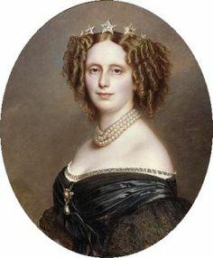 Sophia Frederia of Wurttemberg  - Franz  Winterhalter