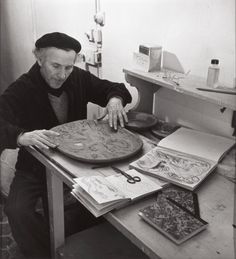 Marc Chagall, New York, 1943 -by Philippe Halsman