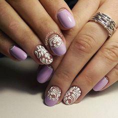 роспись ногтей | 208 фотографий