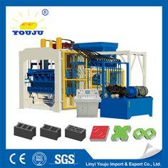 hydraulic stationary concrete block machine paver machine